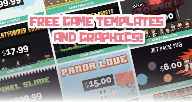 FREE HTML5 Game Templates and Graphics